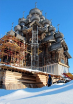 Главный храм Кижей вырастет
