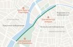 Три московские набережные на лето закроют для машин