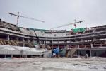 Стадион «Зенит-Арена» изнутри