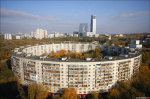 Круглые дома в Москве