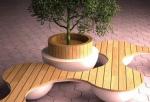 Как благоустроят Басманный район: скамейки с навигацией, цветник в водосточной трубе, уличные шезлонги и другие проекты