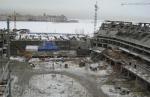 Стадион растёт только на севере