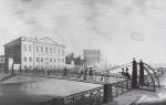 Петербург. Почтамтский мост. 1823 - 1824 гг.