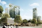 В центре Перми построят 12 башен-близнецов
