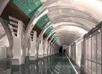 Новое метро на Васильевском: как на море