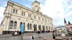 Ленинградский вокзал открывается в Москве после реконструкции