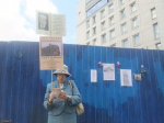 В годовщину сноса Дома Рогова от Смольного просят защитить исторический центр