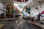 Как действующий завод становится музеем стрит-арта