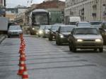 На Тверской сократят две полосы проезжей части