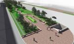 Вдоль Нового Арбата пройдет пешеходная аллея в виде волны