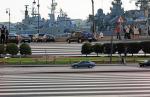 Попасть на некоторые набережные в Петербурге могут только пешеходы-нарушители