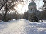 В Омске реконструируют Никольский собор