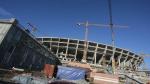 Стадиону добавят воды и зелени