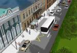 Антикарманы для автобусов появятся на Пятницкой улице к сентябрю