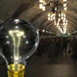 Московское метро превращается в царство мрака