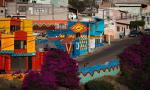 Хорошая смесь: испанские художники раскрасили депрессивный квартал в мексиканском Сантьяго-де-Керета