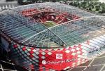 Завершается строительство стадиона «Спартака»
