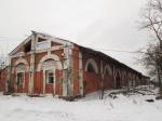 Снесен западный пакгауз Варшавского