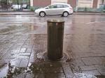 Пешеходные зоны в Москве стали столбовыми