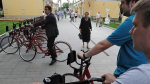 Москва погналась за велосипедами