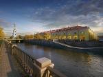 В историческом центре Петербурга началась реставрация старинных Никольских рядов