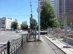 Велодорожка на ул. Циолковского в Екатеринбурге