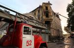 В Выборге сгорел памятник архитектуры XIX века