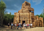 В Никола-Ленивце построили последний зиккурат