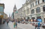 В центре Москвы откроют три новые пешеходные зоны