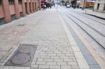 Тротуары в Москве разделят на полосы движения пешеходов
