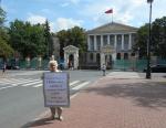 Перед выборами петербуржцы попросят врио губернатора избавить город от разрушителя Оганесяна
