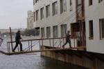 Фрунзенскую набережную очистят от плавучих клубов и ресторанов