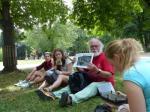 Будущие архитекторы во время летней практики изучали европейские города