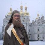 Монахи разрушают Киево-Печерскую лавру
