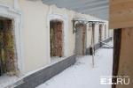 Купеческий особняк в Екатеринбурге разрушают ради нового бизнес-центра
