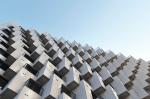 Фасад из кубиков