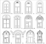 Исследование морфотипов декоративных элементов деревянных жилых домов Вологды