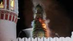 МЧС проверяет подрядчика Новодевичьего монастыря