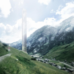 Альпийский небоскреб