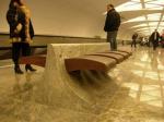 Традиционно - значит современно. Новая станция метро «Строгино» выдержана в стиле «дворцового минимализма»