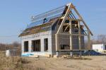 Под Владивостоком строится первый в России соломенный дом с солнечным отоплением