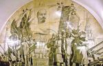 Война не остановила метро