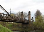Остров, Псковская область, Россия: цепные мосты