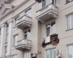 Обрушение грозит девяти балконам дома на проспекте Ленина, 61