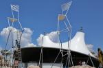 Территория фестиваля «Befooz» в Поповке стала конструкторской площадкой для новой надувной архитектуры