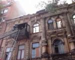 Памятник архитектуры, который горит в Ростове, хотели выставить на торги