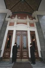 """Четыре """"звезды"""" над тремя вокзалами. Закончена реставрация высотной гостиницы """"Ленинградская"""""""