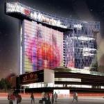 На месте Черемушкинского рынка возведут первое здание с media-фасадом