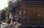 В Нижнем Новгороде сгорел деревянный флигель усадьбы князя Чегодаева