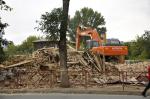 «Кошелев» расчищает площадку под строительство около площади Куйбышева